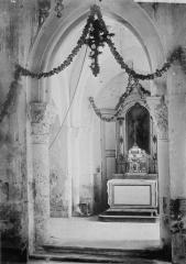 Eglise - Absidiole, intérieur
