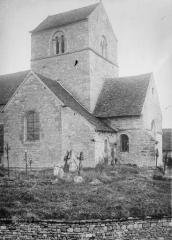 Eglise - Clocher et abside
