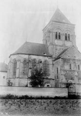 Eglise Saint-Symphorien - Clocher et abside, au nord
