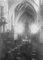 Eglise Saint-Lié - Nef et choeur