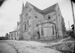 Eglise Saint-Pierre - Transept et abside, au sud