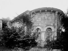 Ancienne église, Temple protestant - Abside
