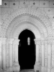 Eglise Notre-Dame - Portail sous porche