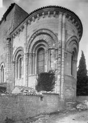 Eglise Saint-Eutrope du Cormenier - Abside, côté sud