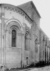 Eglise Saint-Eutrope du Cormenier - Abside, côté nord