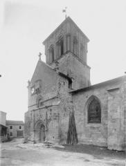 Eglise Saint-Pierre£ - Clocher, au sud