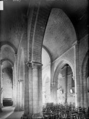Eglise Saint-Chartier de Javarzay - Bas-côté sud et nef