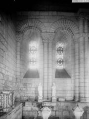 Eglise Saint-Hilaire - Tribune d'entrée