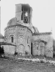 Eglise Saint-Jean-Baptiste - Ensemble nord-est, partie écroulée