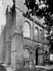 Eglise Saint-Vincent - Façade ouest