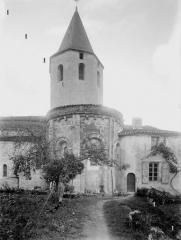 Eglise Sainte-Eulalie - Abside et clocher