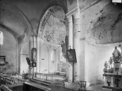 Eglise Sainte-Eulalie - Transept, vue diagonale