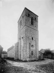 Eglise Saint-Hilaire - Clocher, au sud-est