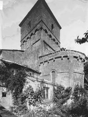 Eglise Saint-Martial - Clocher et abside sud-est