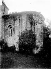 Eglise Saint-Maixent - Abside, au sud