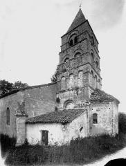 Eglise Notre-Dame - Clocher et abside, au sud