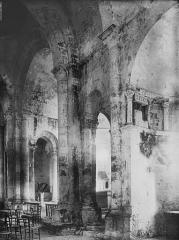 Eglise Saint-Denis - Transept, vue diagonale