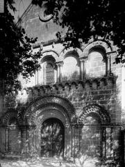 Eglise Saint-Hippolyte - Façade ouest