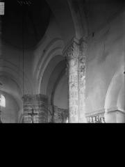 Eglise Saint-Hilaire - Transept, vue diagonale