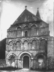 Eglise Saint-Cybard - Façade ouest