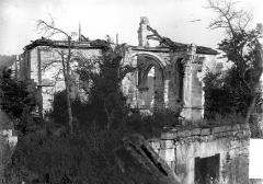 Eglise - Ruines, côté sud