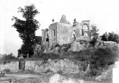 Eglise - Ruines, côté est