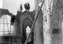 Eglise - Ruines, fenêtres