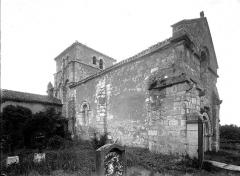 Eglise Saint-Cybard de Porcheresse - Ensemble nord-ouest
