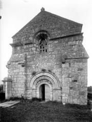 Eglise Saint-Cybard de Porcheresse - Ensemble ouest