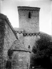 Eglise Saint-Barthélémy - Abside au sud et clocher