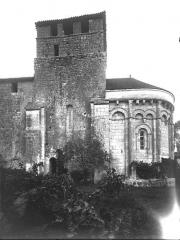 Eglise Notre-Dame - Abside et clocher, au sud