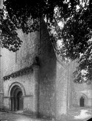 Eglise Saint-Vivien - Angle sud-ouest