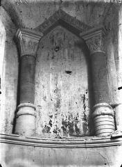 Eglise Saint-Pierre - Arcature en mître