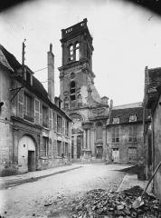 Ancienne abbaye Saint-Léger - Eglise, façade ouest