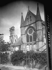 Ancienne abbaye Saint-Léger - Eglise, bras sud du transept