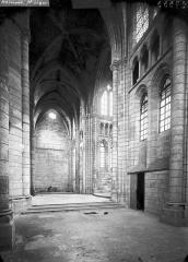 Ancienne abbaye Saint-Léger - Eglise, bras nord du transept, intérieur