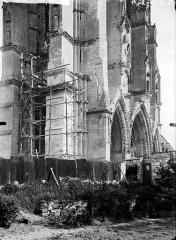 Ancienne abbaye de Saint-Jean-des-Vignes - Eglise, angle nord-ouest