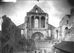 Ancienne église Saint-Pierre-au-Parvis - Façade ouest, revers