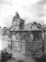 Ancienne église Saint-Pierre-au-Parvis - Angle sud-ouest