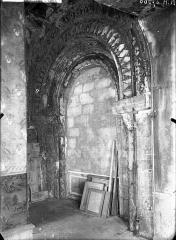 Ancienne abbaye Notre-Dame - Baie aveugle