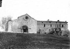 Prieuré Notre-Dame-de-Salagon - Façade