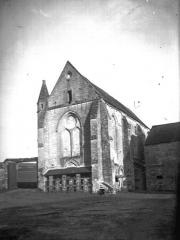 Ancienne commanderie de templiers de Moisy - Eglise, façade