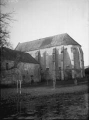 Ancienne commanderie de templiers de Moisy - Eglise, abside