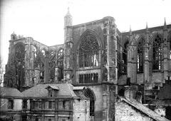 Ancienne collégiale Saint-Quentin - Ensemble nord