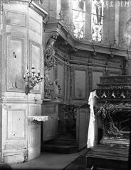 Eglise de Rembercourt - Boiseries