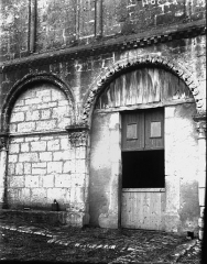 Abbaye Sainte-Marie-aux-Bois - Façade, arcature
