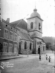 Eglise Saint-Etienne - Façade et clocher