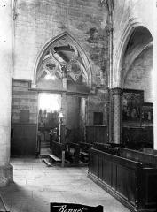 Eglise Saint-Florentin - Portail sud, revers