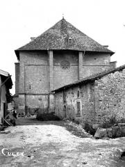 Eglise de Culey - Façade ouest