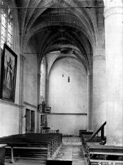 Eglise de Culey - Nef, vue du choeur